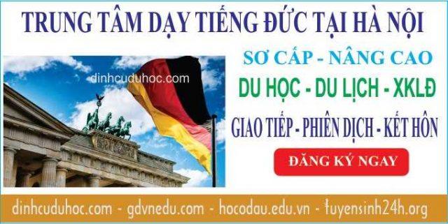Học tiếng Đức tại Hà Nội