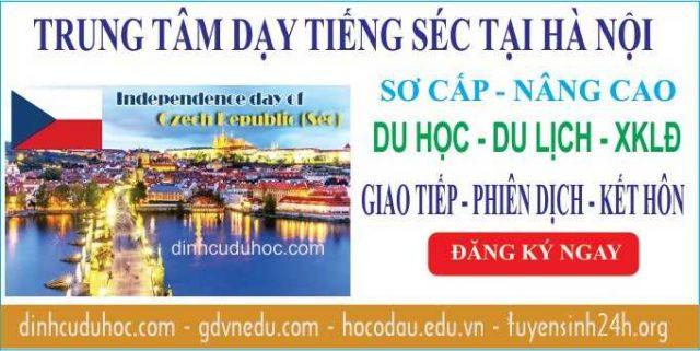 Học tiếng Séc tại Trung tâm dạy tiếng Séc uy tín ở Hà Nội