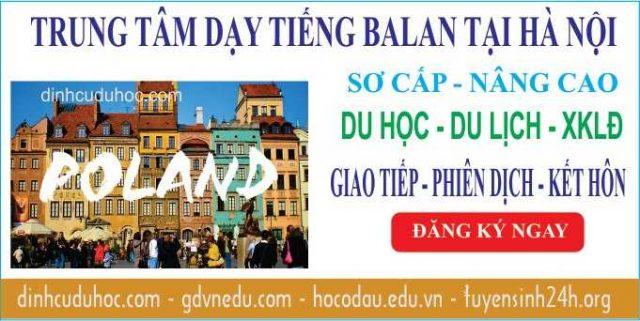 Học tiếng Ba Lan tại Trung tâm dạy tiếng Ba Lan uy tín ở Hà Nội